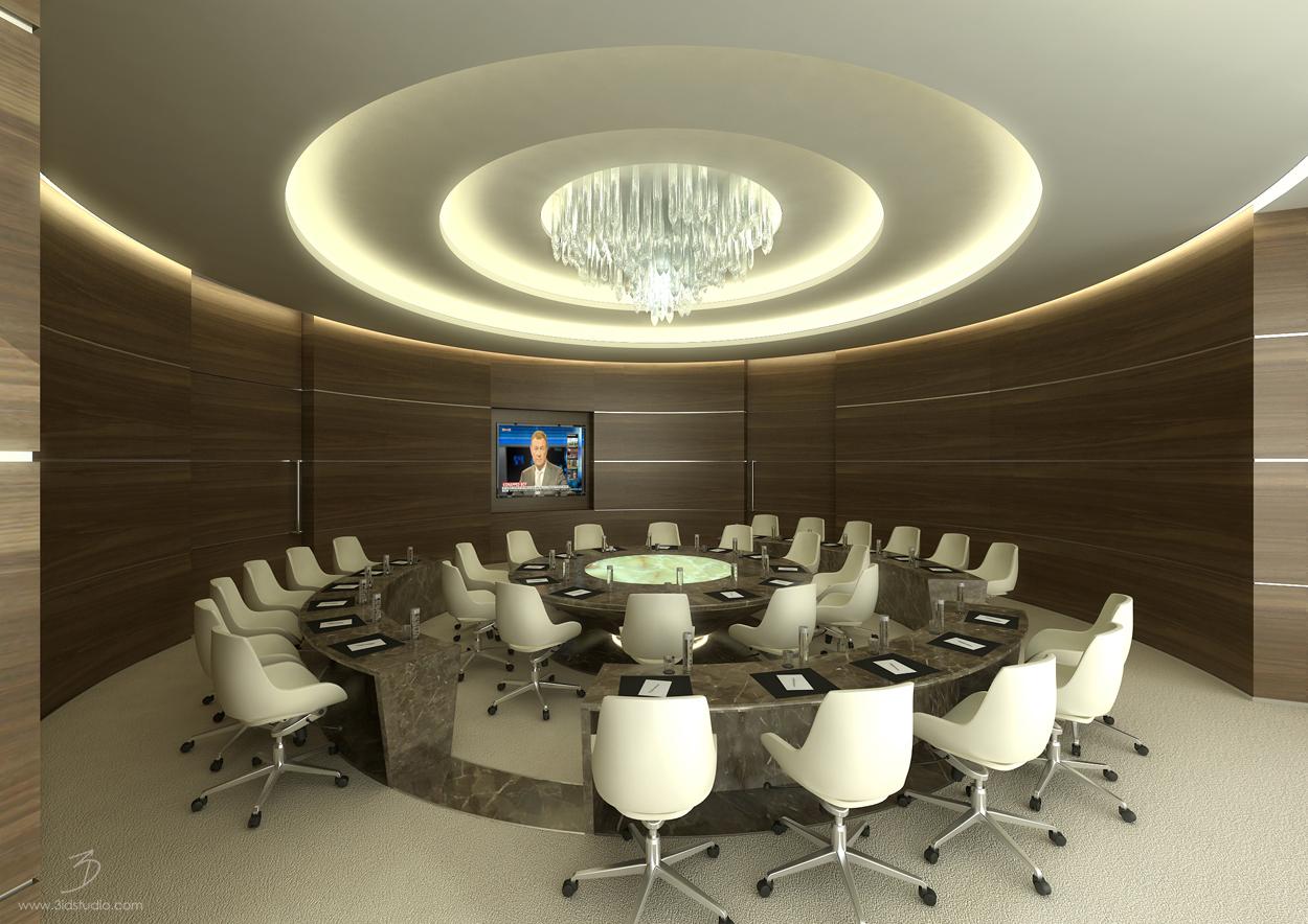 5 star Boardroom interior design (1)