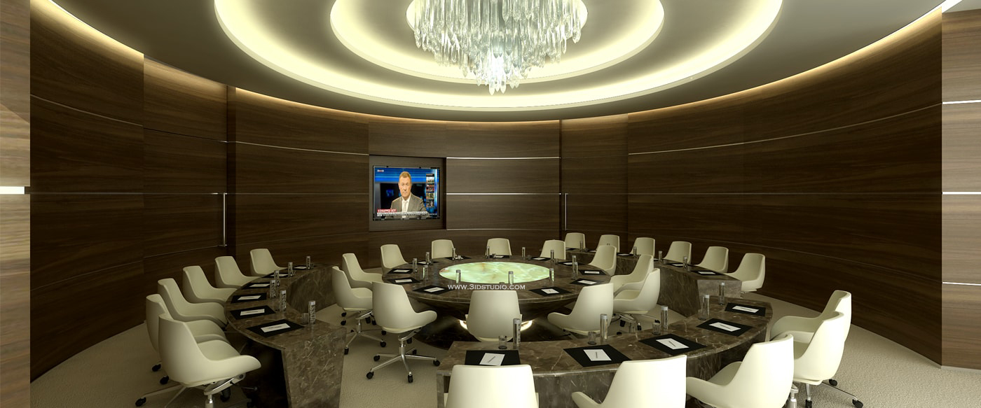 3D VISUAL OF CONFERENCE ROOM